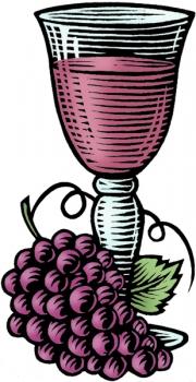 WineGlassGrapesPu